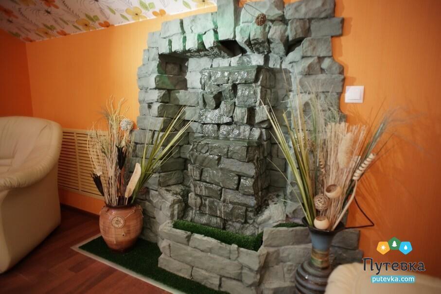 Люкс Люкс 2-местный корпус 3 с камином/водопадом, фото 13