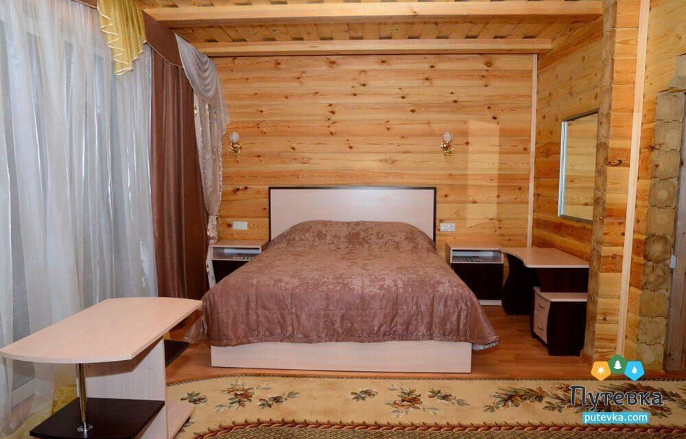 Коттедж Коттедж 4-местный 2-комнатный, фото 1