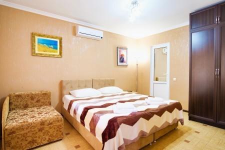 Люкс 2-местный 2-комнатный с мини-кухней, фото 1
