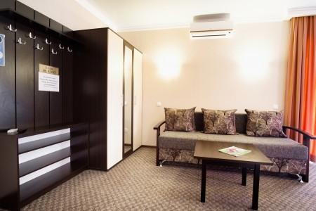 Люкс 2-местный 2-комнатный с балконами, фото 4