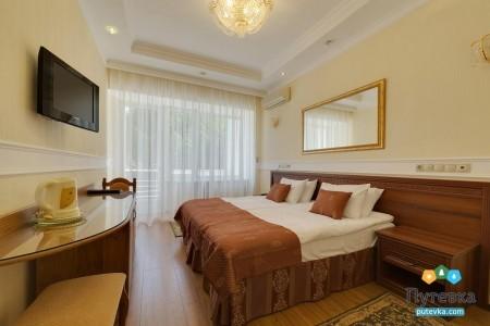 Стандартный 2-местный 1-комнатный номер в центральном корпусе, фото 1