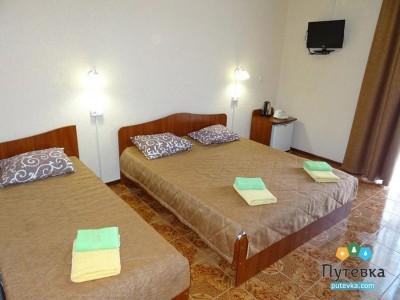 Стандартный 3-местный 1-комнатный с доп.местом, фото 1