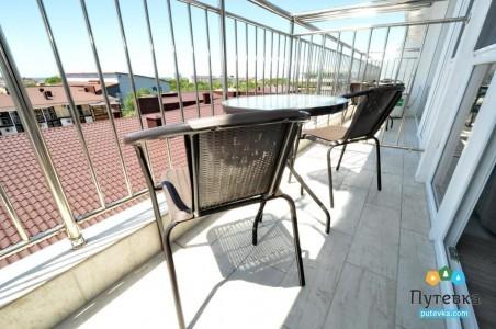 Джуниор сюит 2 местный с балконом с панорамным видом, фото 3