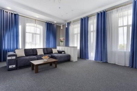 Люкс с террасой 2-местный 2-комнатный, фото 3