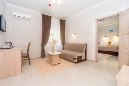 Улучшенный 2-местный 2-комнатный (без лоджии), фото 2