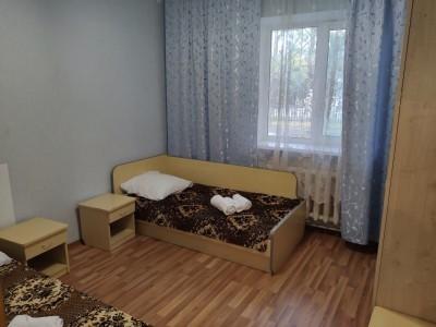 Блок 4-местный 2-комнатный с частичными удобства, фото 2