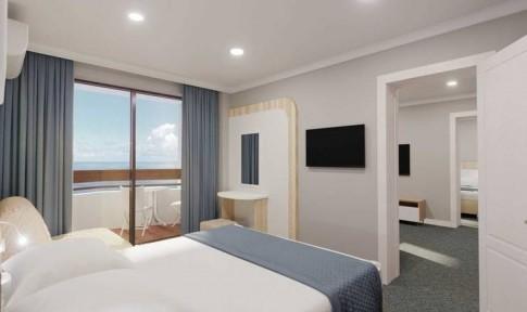 Family Suite sea view 4-местный 3-комнатный, фото 1