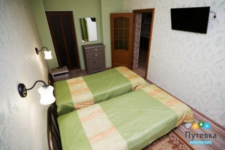 Комфорт 2-местный 2-комнатный Семейный корпус 1, фото 1