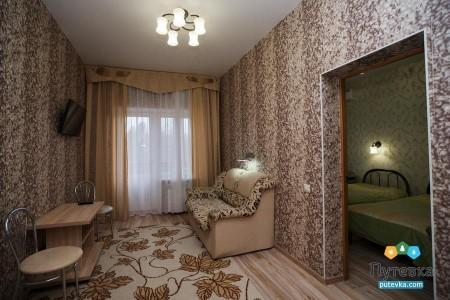 Комфорт 2-местный 2-комнатный Семейный корпус 1, фото 3