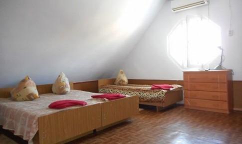 Эконом 3-местный 1-комнатный №19 без удобств, мансарда, фото 1