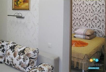 Апартаменты 2-местные 3-комнатные Комфорт корпус 2А, фото 2