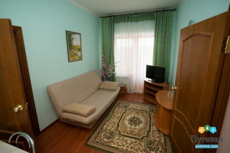 Люкс 1-местный 2-комнатный Комфорт корпус 2А, фото 3
