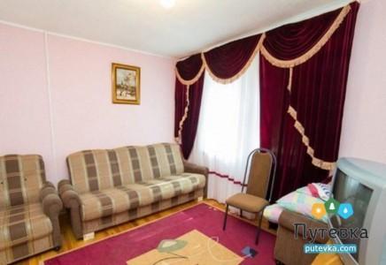 Коттедж Люкс 4-местный 2-комнатный, фото 5