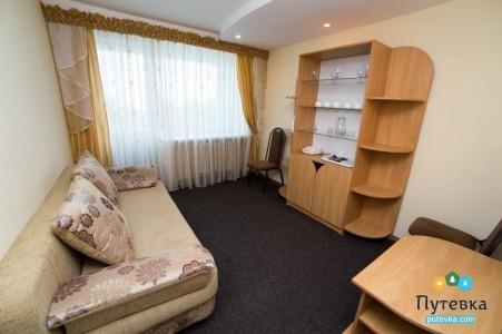 Люкс 2-местный 3-комнатный корпус 1, фото 2