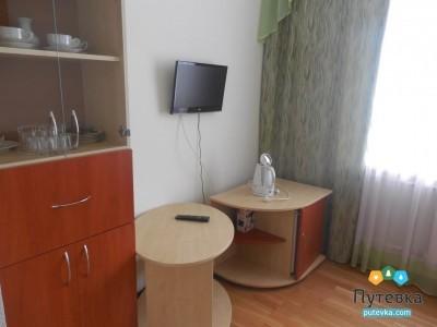Стандартный 2-местный 2-комнатный корпус 1 (кроме 327, 427, 529), фото 4