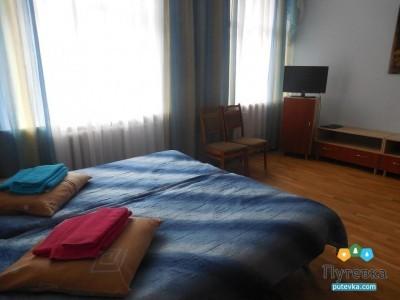 Стандартный 2-местный 2-комнатный корпус 1 (кроме 327, 427, 529), фото 1
