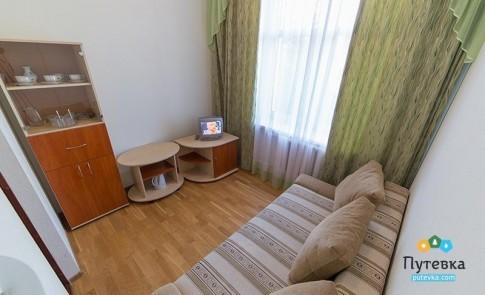 Апартаменты 2-местные 2-комнатные корпус 2 (6 этаж), фото 3