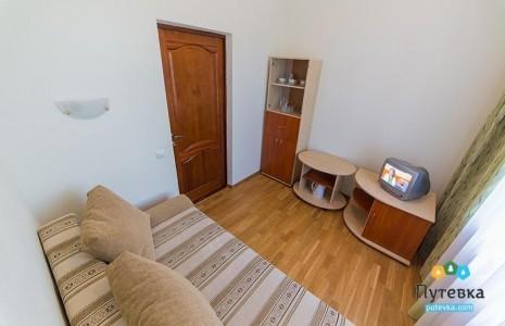 Апартаменты 2-местные 2-комнатные корпус 2 (6 этаж), фото 1