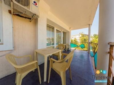 Люкс 2-местный 2-комнатный 1 корпус с балконом, фото 4