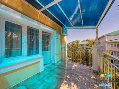 Люкс 2-местный 2-комнатный корп.2,3 с балконом, фото 4