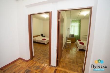 Стандарт 4-местный 2-комнатный (Корпус-коттедж) , фото 1