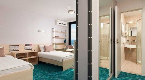Стандартный улучшенный 2-местный с двумя односпальными кроватями Грин Парк, фото 1