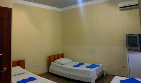 Стандарт 3-местный 1-комнатный без балкона корпус Дача, фото 1