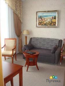 Люкс 2-местный 2-комнатный улучшенный , фото 3