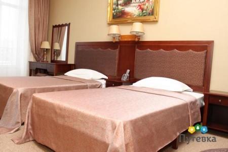 Люкс комфорт 2-местный 2-комнатный , фото 1