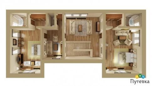 Семейный люкс 4-местный 3-комнатный, фото 8