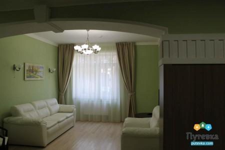 Люкс 2-местный 2-комнатный Luxe корпус 7 , фото 3