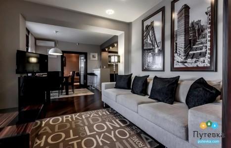 Апартамент 2-местный 3-комнатный, фото 10
