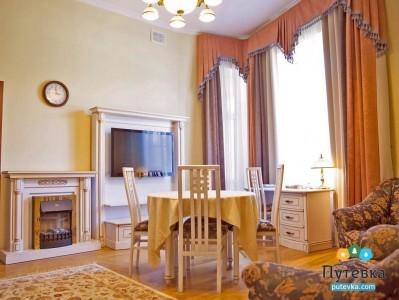Сьют 2-местный 3-комнатный с массажной комнатой, фото 2