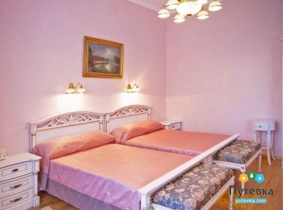 Сьют 2-местный 3-комнатный с массажной комнатой, фото 1