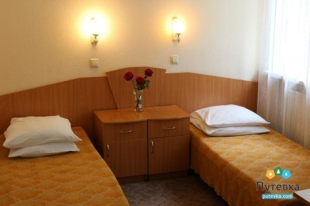 Стандартный 2-местный 1-комнатный в корпусе, фото 1