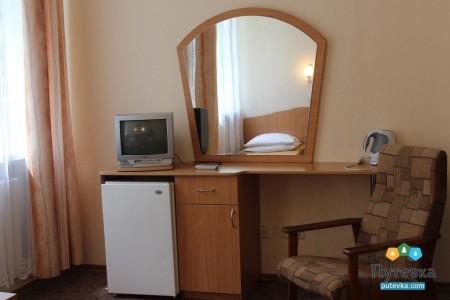 Стандартный 2-местный 1-комнатный в корпусе, фото 3