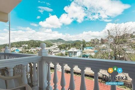 Стандарт 2-местный с балконом (вид на горы), фото 3