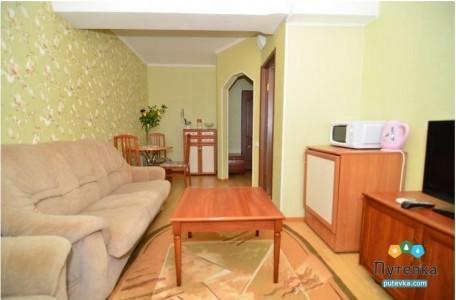 Люкс 2-местный 2-комнатный с видом на море, фото 2