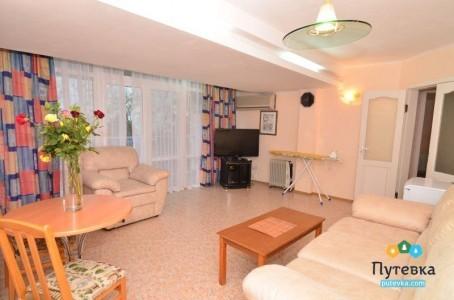 Люкс 4-местный 3-комнатный вид на море, фото 4