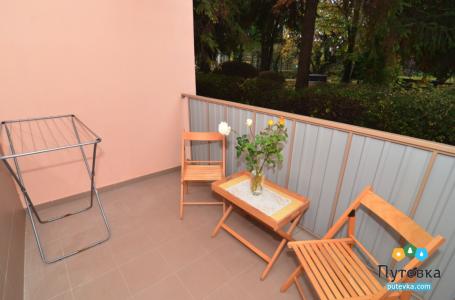 Стандарт 1-местный с балконом, фото 2