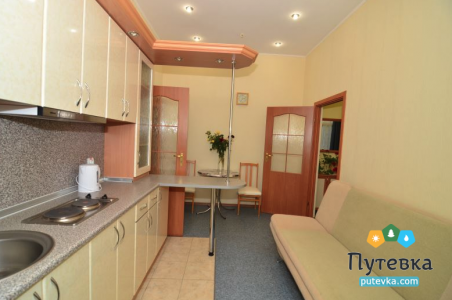 Люкс 2-местный 2-комнатный с кухней, фото 2