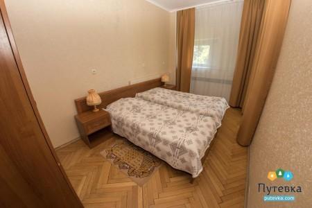 Делюкс 2-местный 2-комнатный стандарт DL2  S 2, фото 1