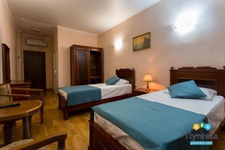 Стандартный 2-местный 1-комнатный  с раздельными кроватями (21м2), фото 1