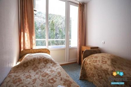 Эконом 2-местный с балконом, горы, фото 1