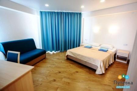 Комфорт 4-местный 2-комнатный с балконом, горы, фото 3