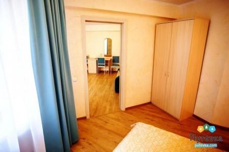 Сюит 4-местный 2-комнатный с балконом, море, 2-5-й этажи, фото 7