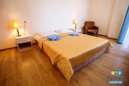 Сюит 4-местный 2-комнатный с балконом, море, 2-5-й этажи, фото 5