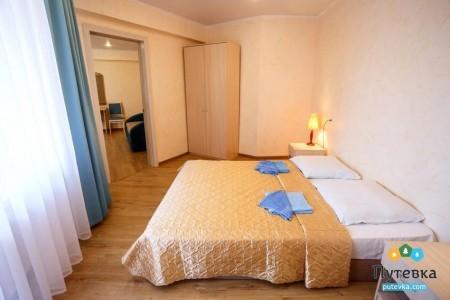Сюит 4-местный 2-комнатный с балконом, море, 2-5-й этажи, фото 6
