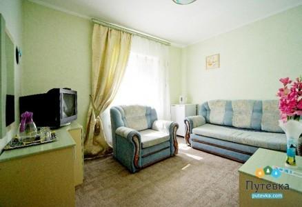 Люкс 3-местный 2-комнатный , фото 2