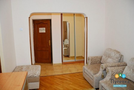 Люкс 2-местный 2-комнатный (коэф. комф. 0,83), фото 5